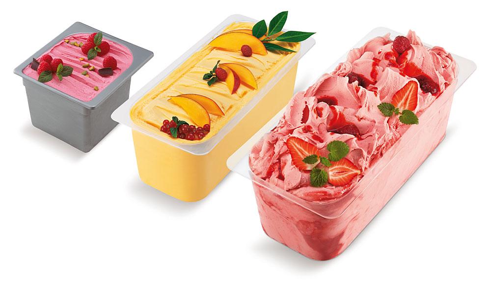 Valentino Premium-Eis Montanara Wannen