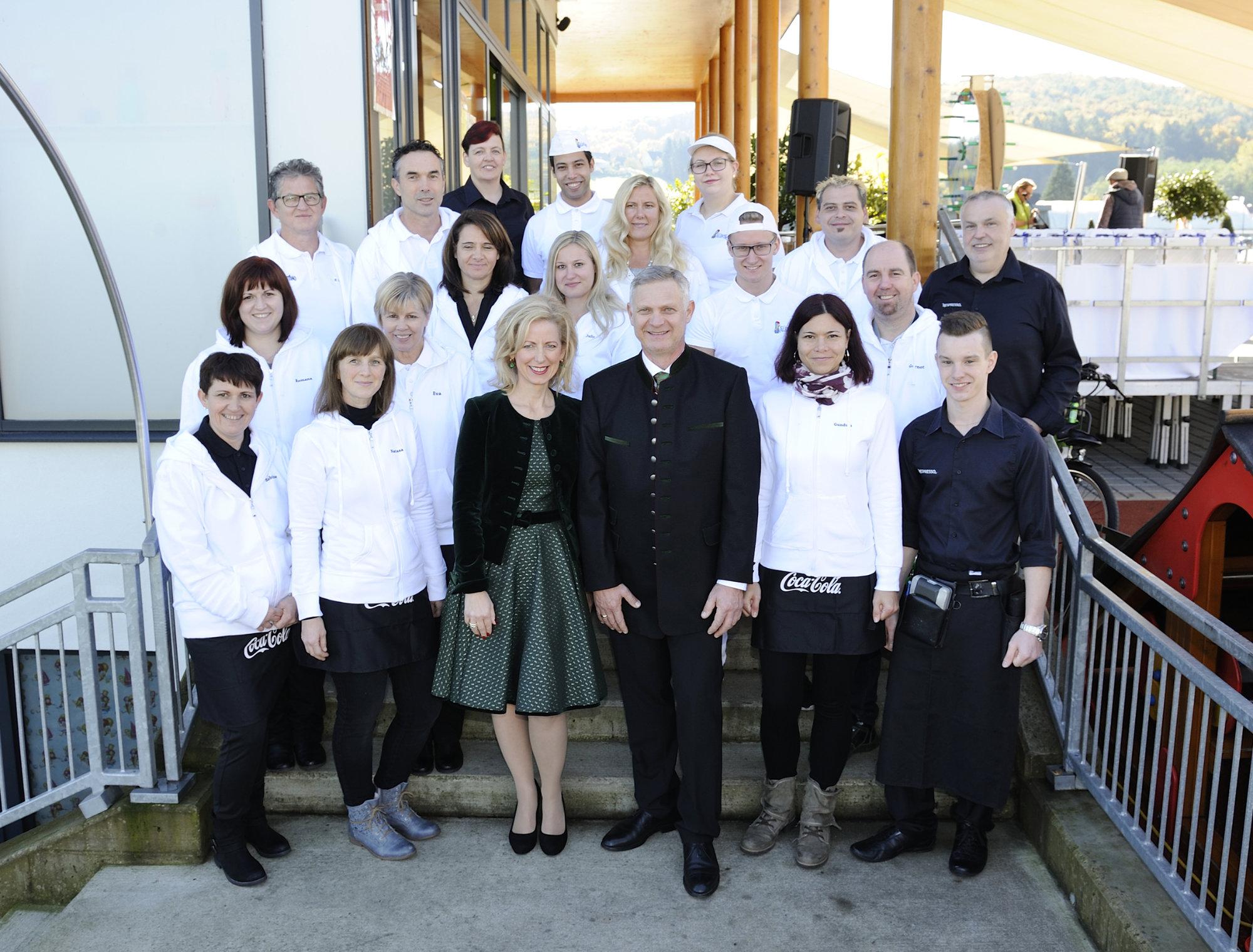 Team von Valentino (c) Foto Strametz