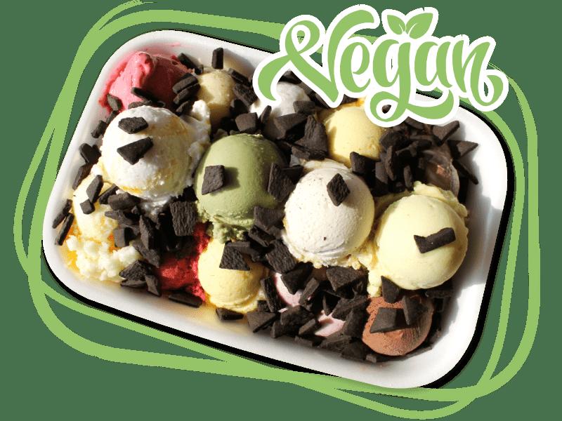 Vegane Valentino Eisboxen zum Mitnehmen