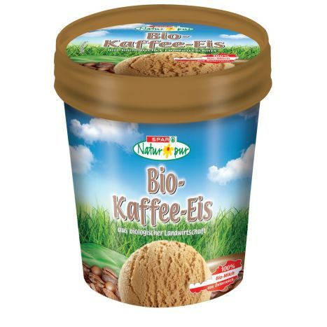 SPAR Natur Pur Bio Kaffe Eis