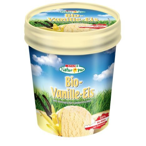 SPAR Natur Pur Bio Vanille Eis