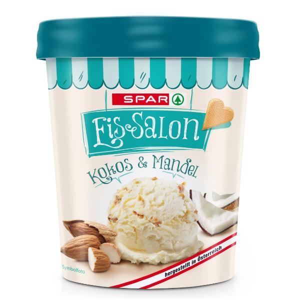 Spar Eis-Salon Kokos & Mandel