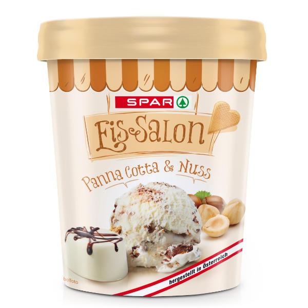 Spar Eis-Salon Panna Cotta & Nuss