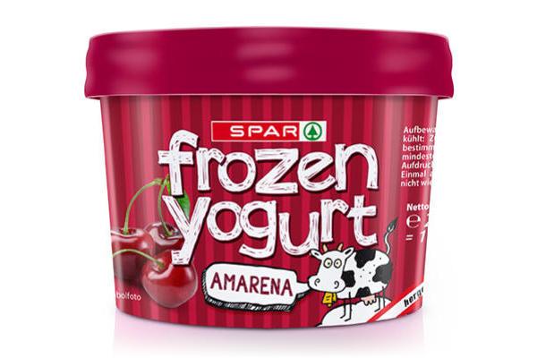 Spar Frozen Yogurt Amarena