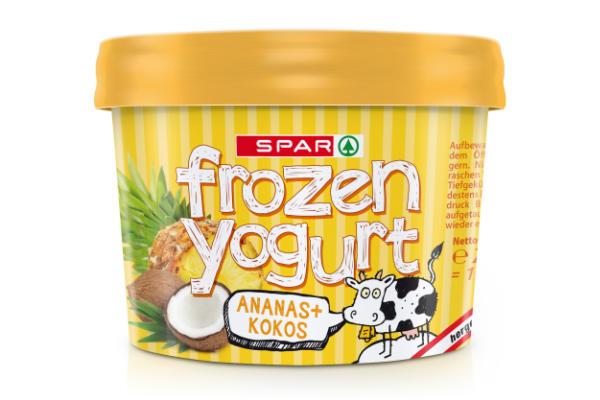 Spar Frozen Yogurt Ananas Kokos