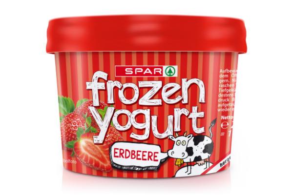 Spar Frozen Yogurt Erdbeere
