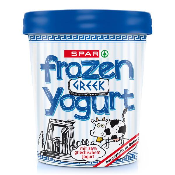 Spar Frozen Yogurt Greek