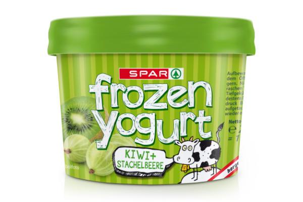Spar Frozen Yogurt Kiwi Stachelbeere
