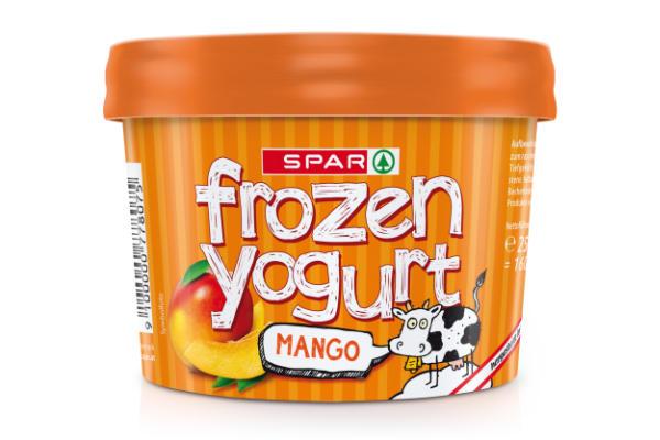 Spar Frozen Yogurt Mango