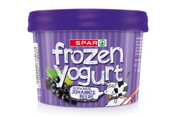 Spar Frozen Yogurt Schwarze Johannisbeere