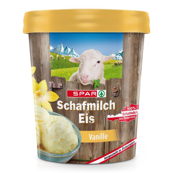 Spar Schafmilch Eis Vanille