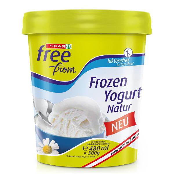 Spar free from Frozen Yogurt Natur Eis
