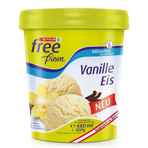 Spar free from Vanille Eis
