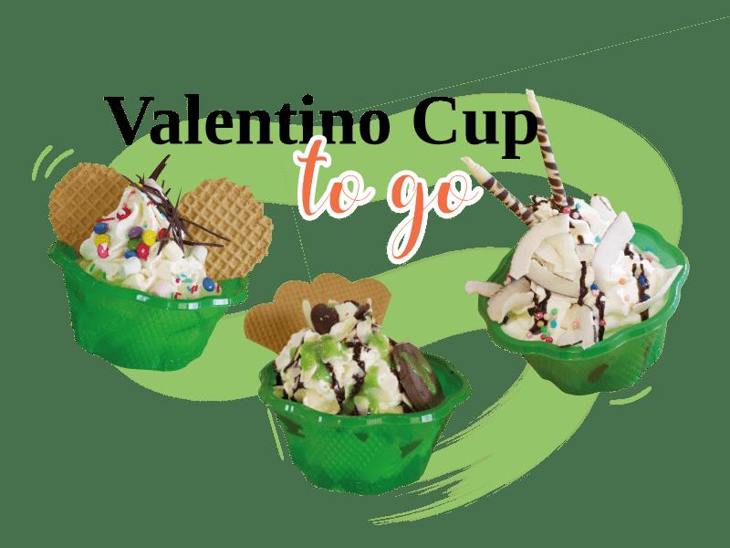 Valentino Cup to Go Trio