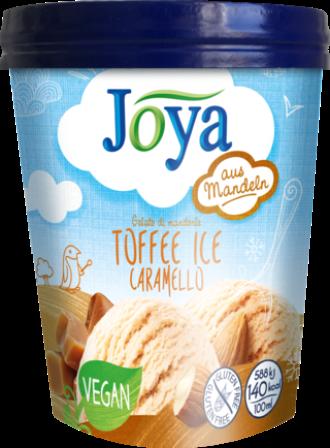 Veganes Joya Eis Mandel Toffee