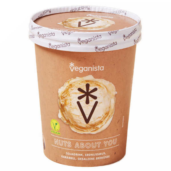 Veganista Eis NUTS ABOUT YOU